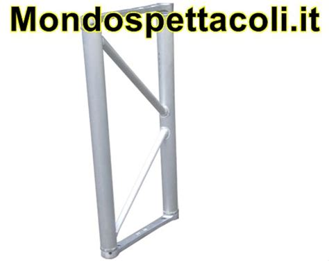 traliccio in alluminio p40 traliccio in alluminio sezione piana da 40cm l 50cm