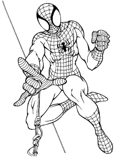 disegni da colorare uomo ragno gratis da colorare e stare disegni di l uomo ragno da