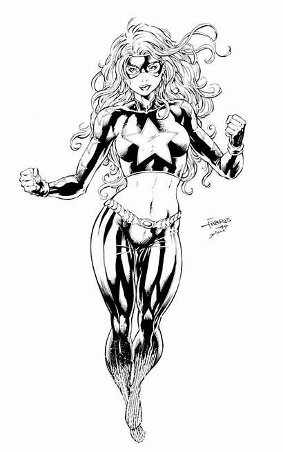 Stargirl Deviantart Sketch Devgear Coloring Inks Deadpool