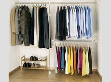 Wardrobe Clothes Garment Organiser Closet Extendable