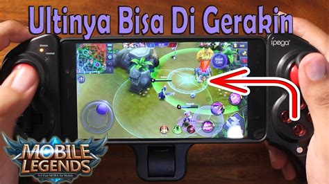 Cara Main Mobile Legend Aov Pake Stick Gamepad Controller