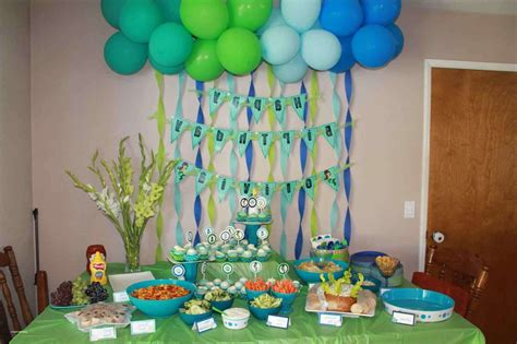 1st birthday party simple decorations at home lovely best