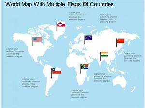 Chart Flags Of The World Apt World Map With Multiple Flags Of Countries Flat