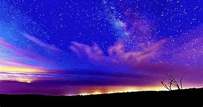 Stars Star Sky Night Gifs Amazing Colors