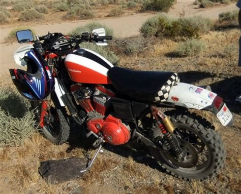 One More Sportster Dual Sport