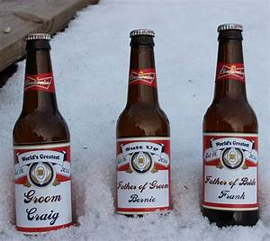 personalized wedding party 12 oz diesel lite beer bottle With cheap beer bottle labels