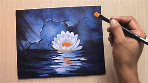 acrylic painting for beginners of beautiful and simple