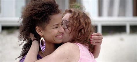 Gugu Mbatha Raw Mackenzie Davis Lesbian Scene From