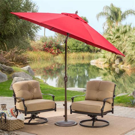coral coast 9 ft sunbrella deluxe tilt aluminum patio