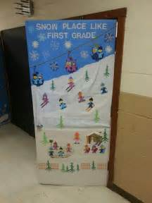winter classroom door classroom ideas pinterest door
