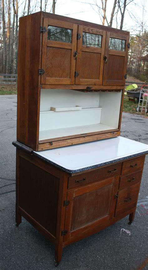 Hoosier Cupboard by Antique Oak Auto Front Hoosier Cabinet Cupboard Tambour