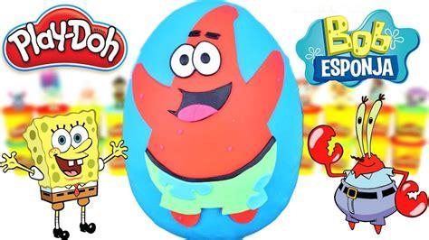 Huevo Sorpresa Gigante de Patricio Estrella de Bob Esponja