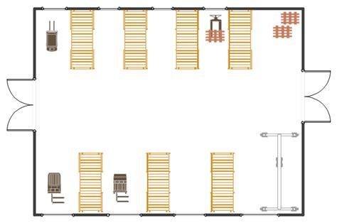 warehouse layout floor plan