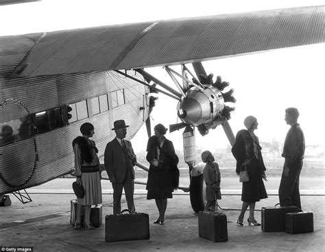 What Air Travel Was Really Like In The 1930s  Daily Mail