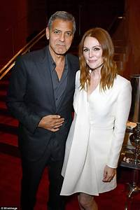 Julianne Moore and George Clooney at Suburbicon TFF event ...