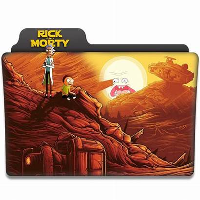 Rick Morty Folder Icon Icons Deviantart