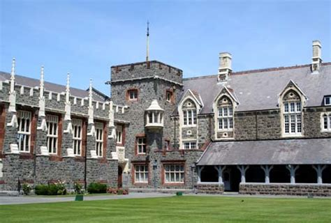christs college buildings  canterbury region te