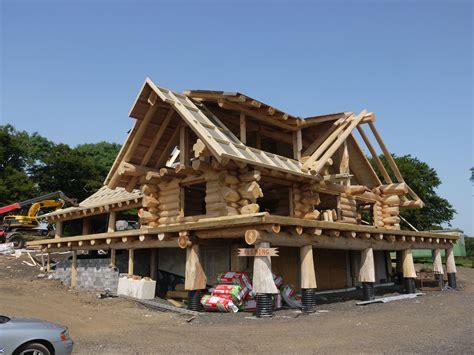 building log homes   uk