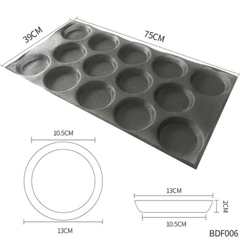 non perforated silicone forms baking bun bread sheets molds stick bakeware muffin hamburger pan nz