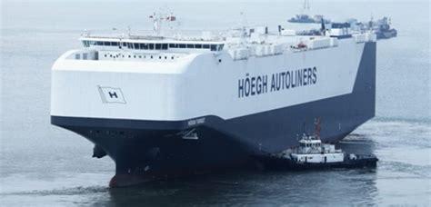 worlds biggest car carrier ship  southampton capital