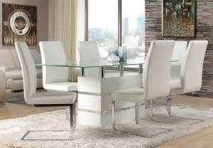 white dining room sets white leather dining room chairs decor ideasdecor ideas