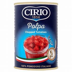 Cirio Chopped Tomatoes 400g from Ocado