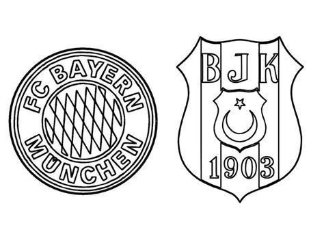Kleurplaat Crossfit by Kleurplaat Logo Bayern Munchen