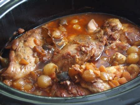 coq au vin cooker style