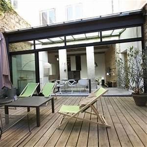 terrasses design et contemporaines idee deco et With idee terrasse exterieure contemporaine 1 maison contemporaine blanche avec un interieur design