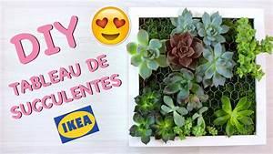 Mur Végétal Intérieur Ikea : diy comment cr er un tableau de succulentes cadre ~ Dailycaller-alerts.com Idées de Décoration
