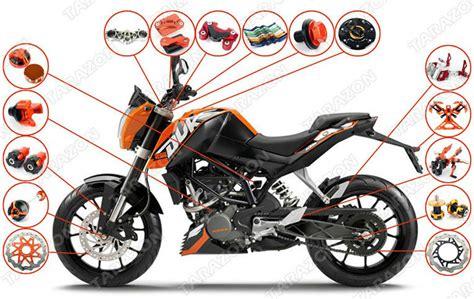 Cnc Aluminum Motorcycle Spare Parts For Ktm Duke 125