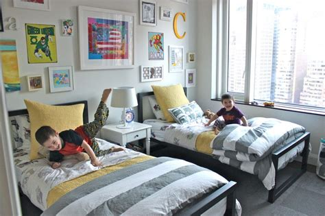 Shared Rooms by Small Shared Boys Room Contemporary White Shared Boys