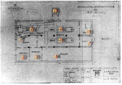 les chambre a gaz plan d une chambre à gaz et de crématoire firme topf und