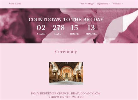 The Best Wedding Website Builders