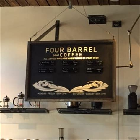Choose from 13000+ coffee barrel graphic resources and download in the form of png, eps, ai or psd. Four Barrel Coffee - San Francisco, CA, United States