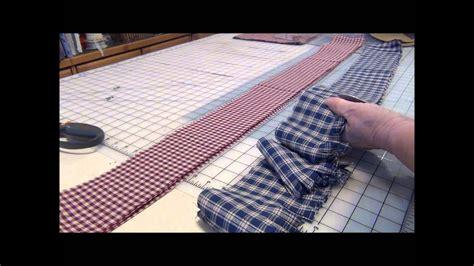 christmas garland  homespun fabrics
