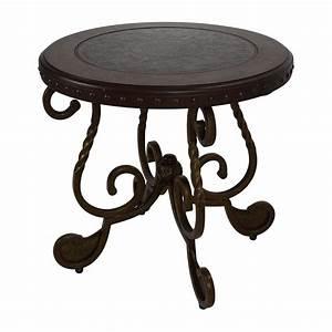90 off ashley furniture ashley rafferty round end table for Rafferty coffee table