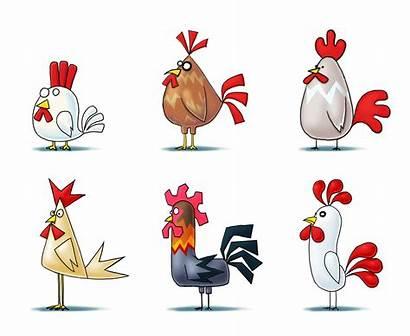 Chicken Artstation Drawing Drawings Illustration Concept Cartoon