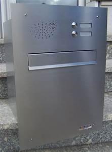 Briefkasten Mit Klingel Aufputz : unterputz briefkasten mit klingel unterputz briefkasten mit klingel b 04 edelstahl luxus ~ Sanjose-hotels-ca.com Haus und Dekorationen