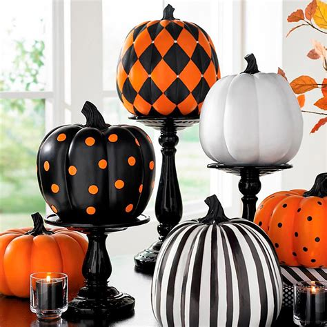 crazy painted pumpkins     family