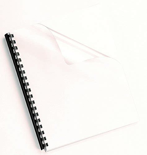 fellowes crystals binding presentation covers letter 100 pack clear fellowes binding presentation covers letter 100 pack