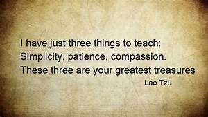 Live Simple Quo... Simplicity Patience Compassion Quotes