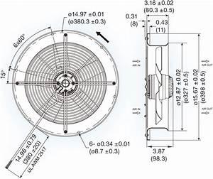 Uf300bna Series Ac Axial Fan
