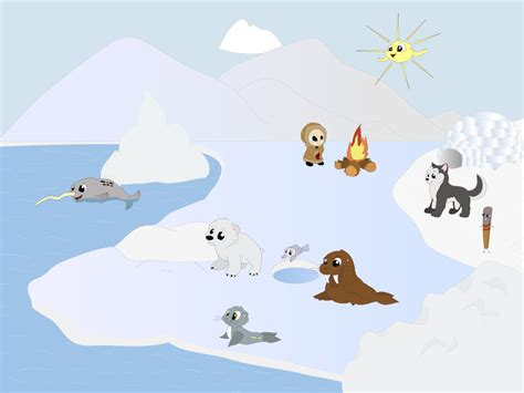Cartoon Artic Images