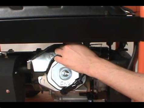 changing  spark plug generac portable generator youtube