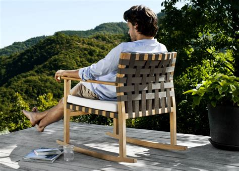tribu vis a vis garden rocking chair tribu outdoor