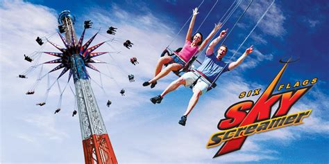 tallest thrill ride  ny coming   flags darien lake