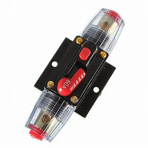 2019 12v Dc Car Audio Inline Circuit Breaker Fuse For