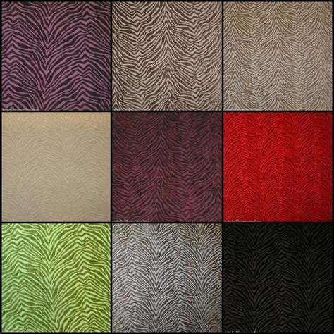 Velvet Upholstery Fabric by Fibre Naturelle Millano Patterned Velvet Designer Curtain