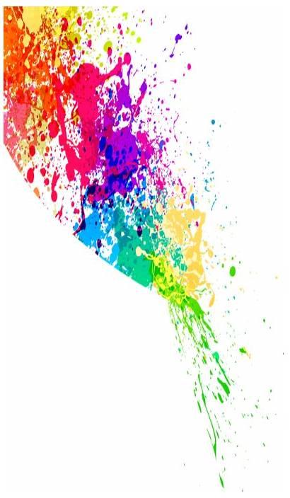 Splash Splatter Paint Colorful Colors Clipart Background